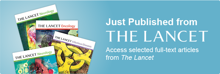 More Lancet specialty titles FREE to Univadis members